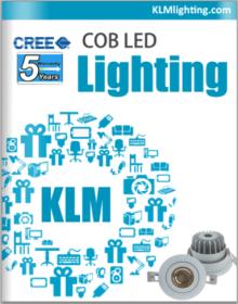 cree cob downlight