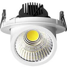recessed led gimbal downlight