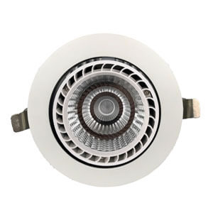 50W High Power Gimbal Downlight - 7~50W  LED Gimbal Downlights