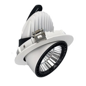 Gimbal LED Downlight 50W - 7~50W  LED Gimbal Downlights