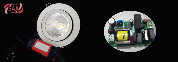 dimmable led downlight kit gimbal head
