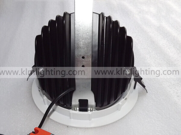 LED Adjustable Gimbals light 1 - LED Gimbal Downlight EU Plug