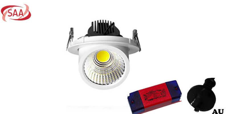 led gimbal downlight au plug - Led gimbal downlight SAA (AU Plug)