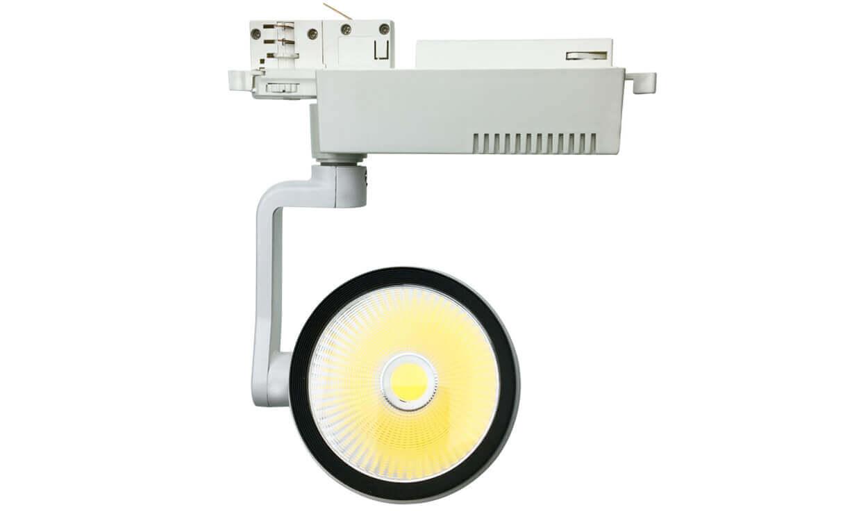 50w white led track light