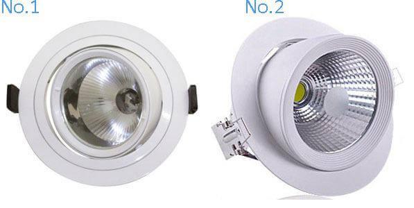 led recessed lighting gimbal 1
