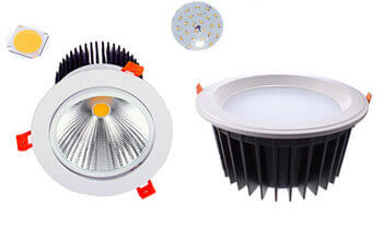 COB Led down lights AND SMD Led down lights