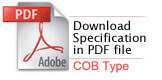 specification download COB  - Adjustable/Fixed led spot downlight