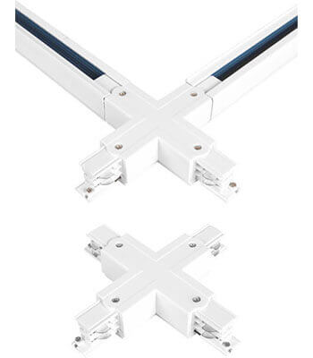 X Connector - Track Light Accessories