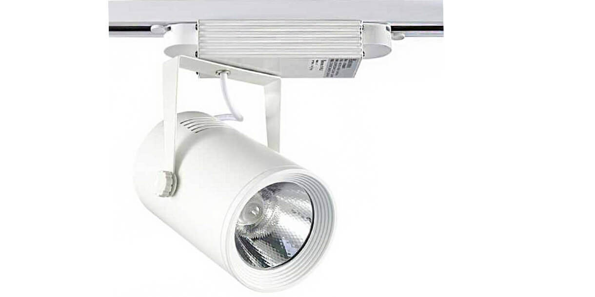 white color 30w led track light