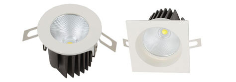 70mm 8w led cob downlight