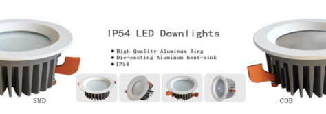 IP54 led downlight banner 474x166 - IP54 LED COB SMD Downlight