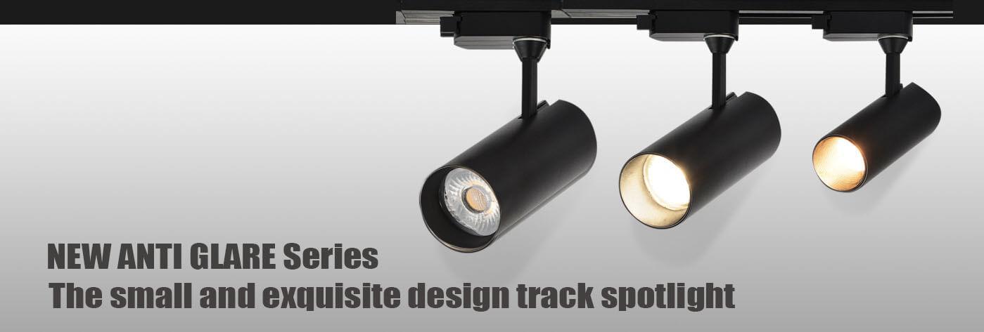 Anti glare led track light