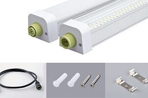 40w IP65 Water proof Dust Proof led tube light  300x200 - Lighting Project for PORSCHE Showroom