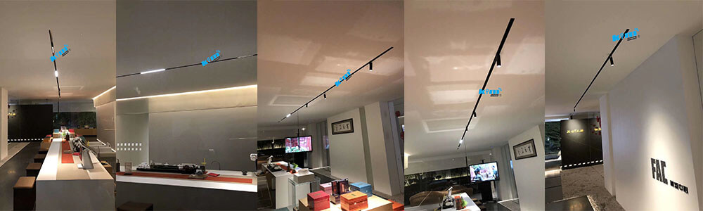 34mm magnetic light system 6 wire application - 34MM Magnetic Linear Architectural Lighting System