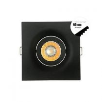 90mm square black led downlight kits 240v 210x210 - IP65 MR16 Module Down Lights