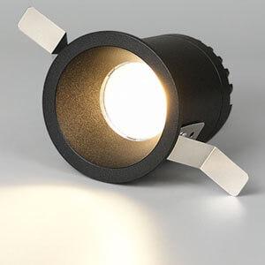 deep anti glare cob spot downlights 24degree  - 24° anti glare  led cob downlight