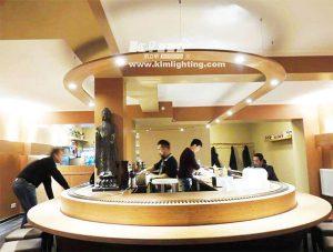 led spot light for Restaurant Lobby 300x227 - How to choose LED Downlight or LED Spotlights for indoor lighting?