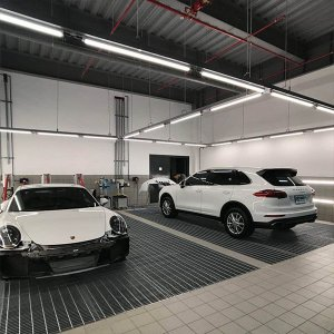 1.2m 40w led batten light for Porsche showroom 300x300 - Lighting Project for PORSCHE Showroom
