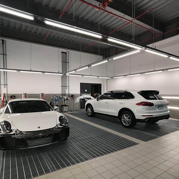 Porsche Car Dealer Showroom Led Lighting Light