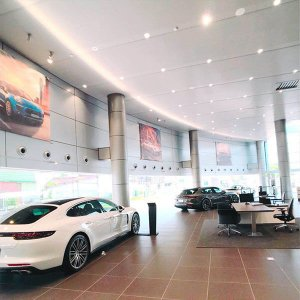 25W cob spot light for PORSCHE Showroom 300x300 - Lighting Project for PORSCHE Showroom