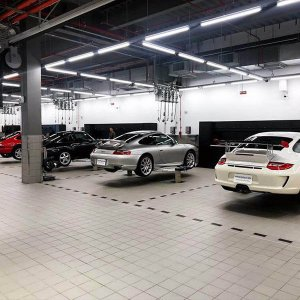 40w car wash led batten lighting ip65 300x300 - Lighting Project for PORSCHE Showroom