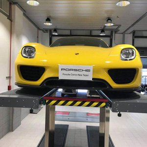 led high bay light for Repairing a car area 300x300 - Lighting Project for PORSCHE Showroom