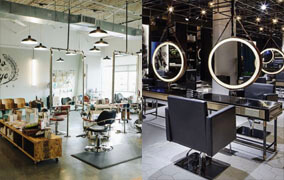 Hairdressing area lighting for barber shop - 2019 Update LED Lights for Barber Salon Shop