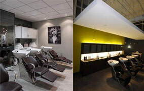 Shampoo area indriect lighting for barber shop - 2019 Update LED Lights for Barber Salon Shop