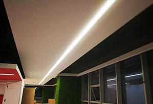 Seamless PC LED Linear Light  299x204 - Seamless Linear Lighting Project for Business office