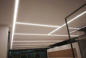 office Seamless recessed led linear light 299x204 - Linear Lighting Project for Business office