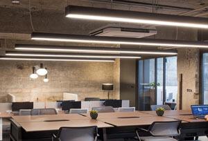 suspendant led linear light 1.2m PC type - Free Combination LED Linear Light