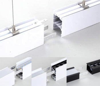 SEAMLESS office led linear light - Seamlessly PC/Spot Linear Light