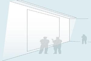 led wall washing linear lighting application