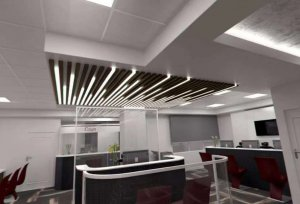 recessed linear spot light 300x204 - Recessed Anti-Glare LED Linear Light