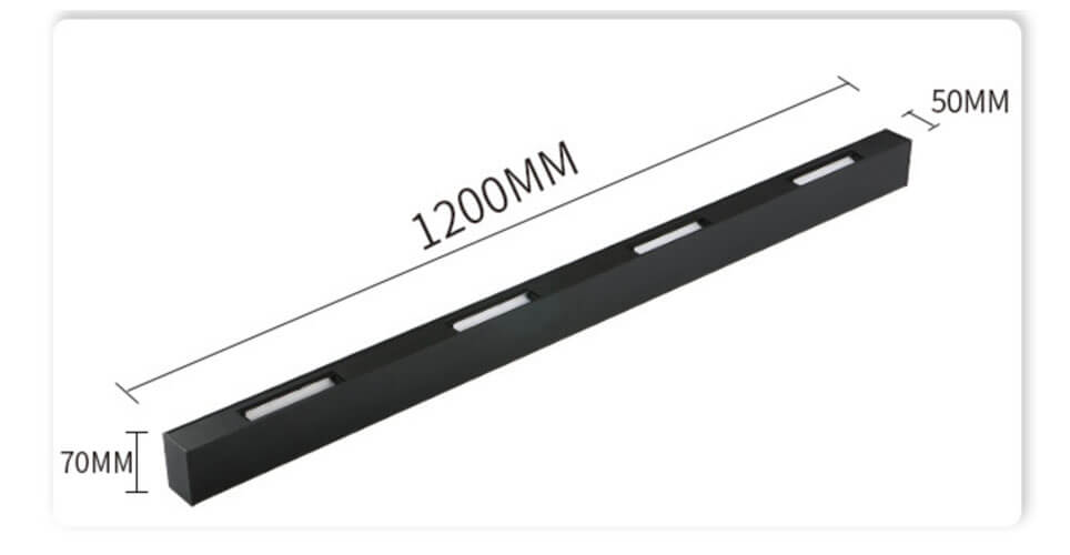 1.2m Modern LED Linear Wall Washer Light - 5070 Wall Washer Linear Light