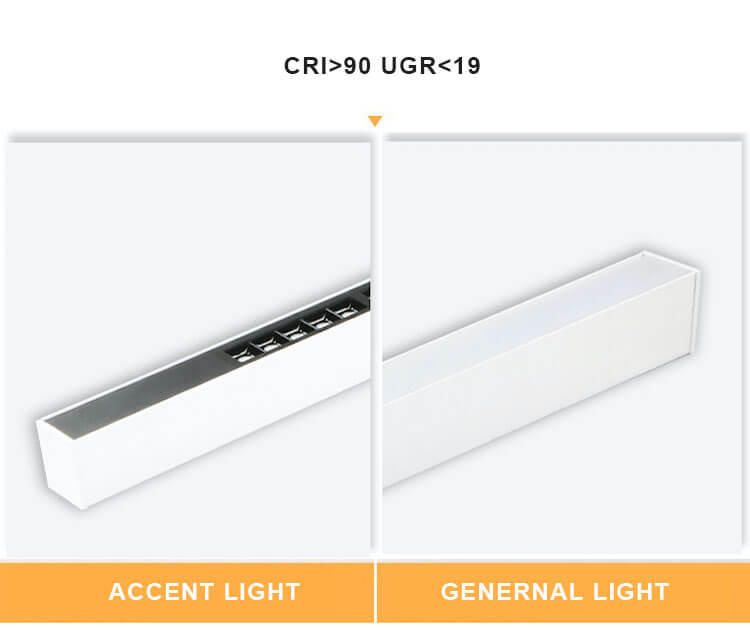 CRI90 led linear light china supplier - 5070 Combined LED Linear Light