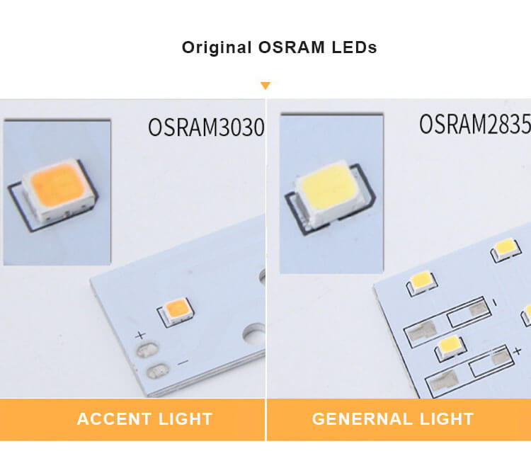 OSRAM LEDs for klm led linear light - 6533 Recessed Linear Light