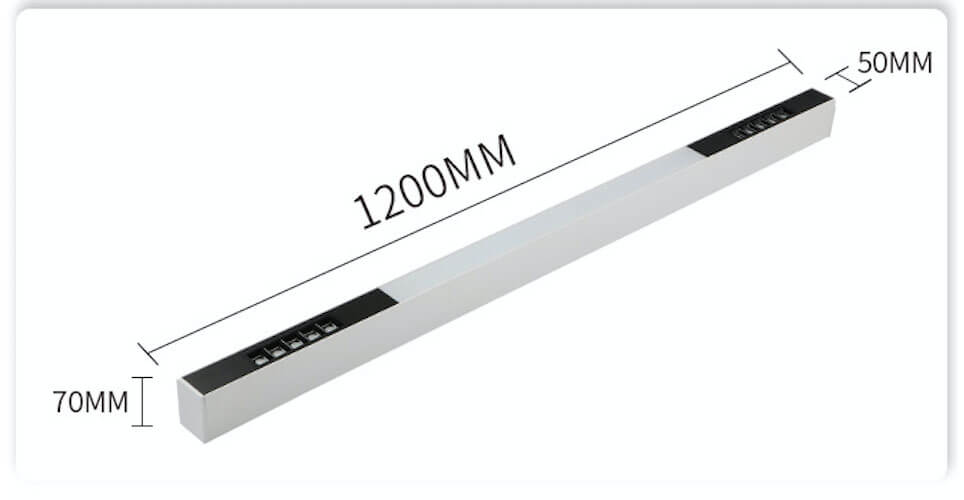 free combination led linear light - 5070 Combined LED Linear Light