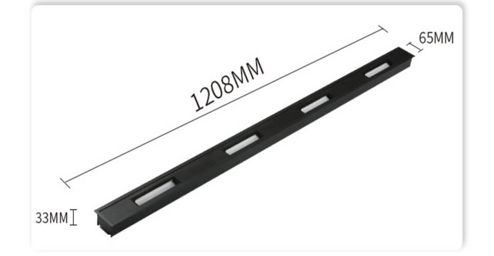 recessed downlight LED linear wall washer  - Recessed Wall Washer Linear Lighting