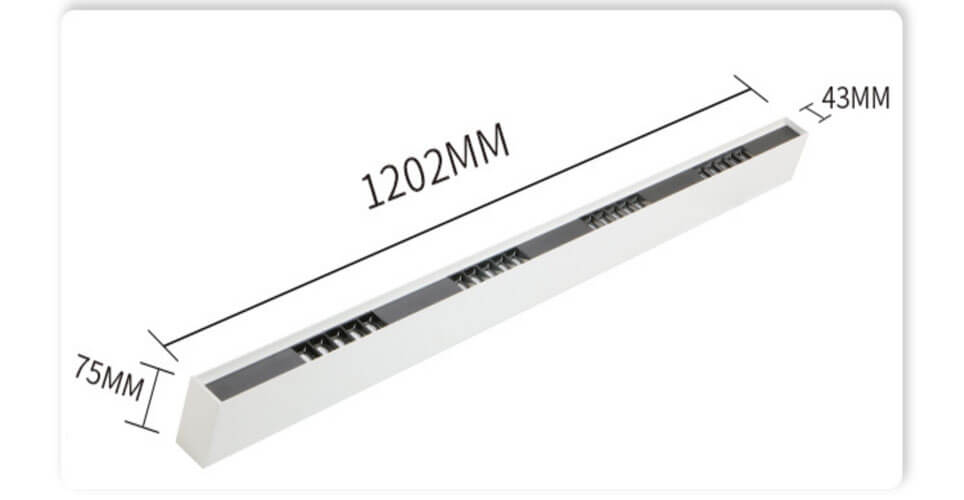 230V LED Spotlight Surface Mounted linear light - Surface Mounted Led Linear Lighting