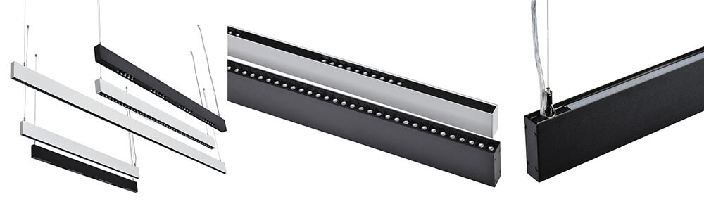 2790 up down linear light  - Up/down Suspended Linear Light OSARM LEDs