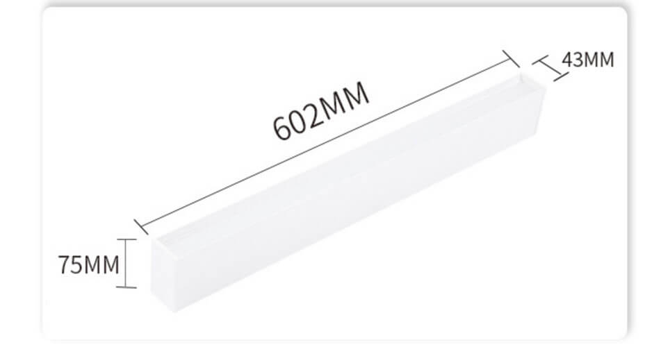 600MM Modern Linear Suspension Lighting - Surface Led Modern Linear Lights