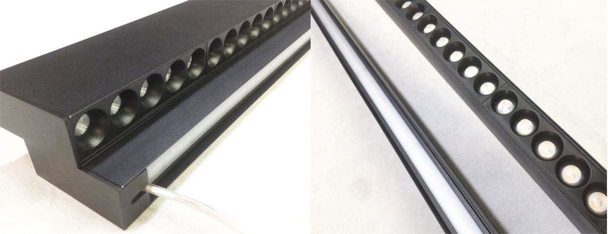 up down extruded aluminum linear light - UP & DOWN Led Linear Light