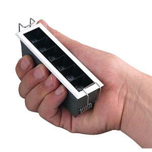 Mini 3 LED Recessed Downlight Darklight Design  - Mini Linear Downlights