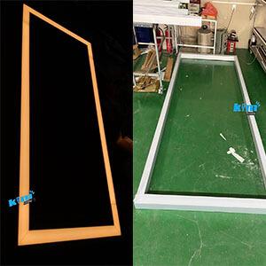 Rectangle square linear light