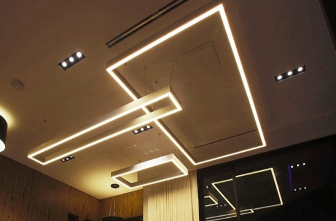 Suspended Led Rectangle Linear Light Led Light Manufacturer