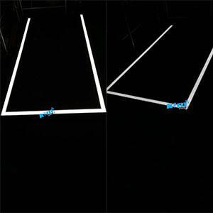 aging test linear light - Suspended LED Rectangle Linear light fitting