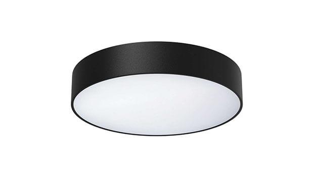 black color modern ceiling light 350mm - About Us