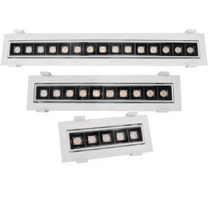 white color adjustable linear light