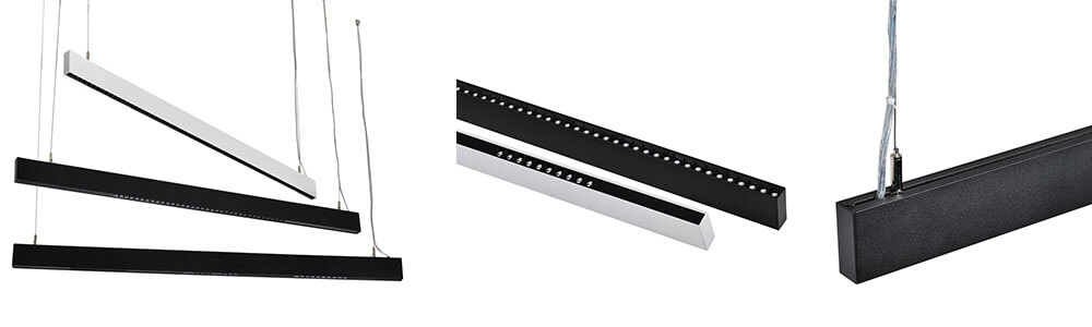 70w led linear light 2.4M - Mini Suspended Office Linear Light